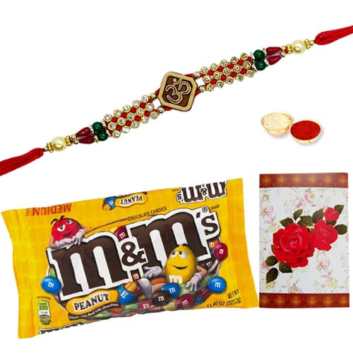Charismatic Celebration Special Rakhi Gift Set