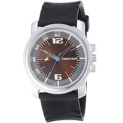 Classy Round Dial Water Resistant Gents Watch from the Store of Fastrack