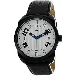 Fancy Fastrack Gents Watch in Silver Dial
