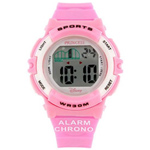 Pretty Pink Disney Kids Wrist Watch