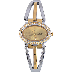 Breathtaking Gift of Stone Studded Ladies Wrist Watch