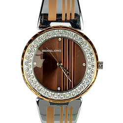 Scintillating Fastrack Watch for Women in Black Dial