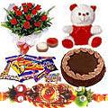 Exquisite Rakhi Gift Set of Joy