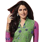 Send Praful Green Salwar Set in Faux Georgette for Lovely Beauties to Chennai
