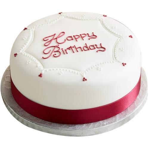 Deliver Online Birthday Vanilla Cake