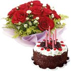 Cake and Flower to Chennai by Chennai Florist