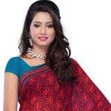 Send Exotic Flair Reniyal Saree to Chennai