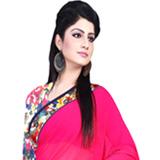 Send Nurtured Luster Georgette Saree to Chennai