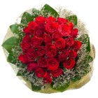 Special Arrangement of 30 Roses Bouquet to Chennai.