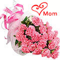 Mothers Day Pink Carnations Bouquet to Chennai